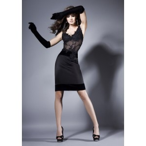 alluring-sleeveless-short-black-full-dress-with-applique